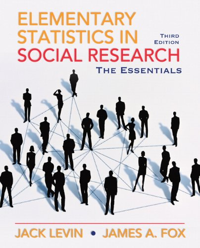 Elementary Statistics in Social Research: Essentials (3rd...