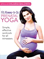 At Home with Hilaria Baldwin: Fit Mommy-to-Be Prenatal Yoga