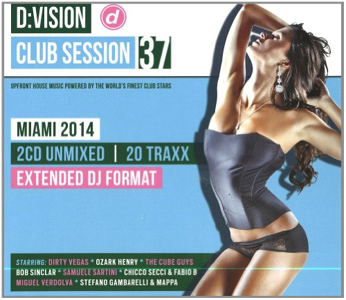 D:Vision Club - Session 37 Miami 2014