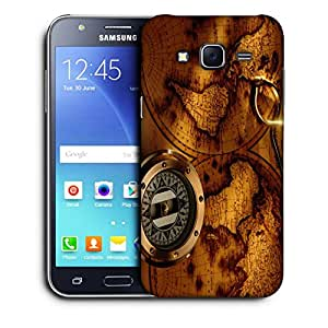 Snoogg World Compass Designer Protective Back Case Cover For SAMSUNG GALAXY J5