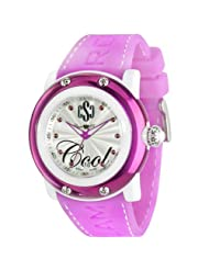 Glam Rock Women's GR62006 Miami Beach Collection Pink Silicone Watch
