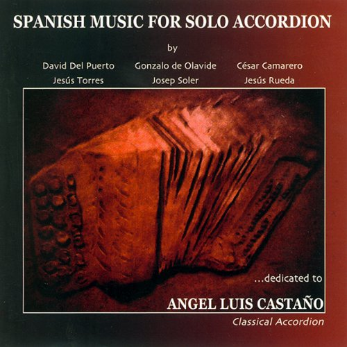 Spanish Music For Solo Accordion