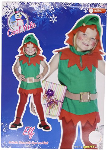 Smiffys Elf Costume Toddler
