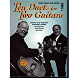 Music Minus One Guitar: Ten Duets for Two Guitars (Book & CD)