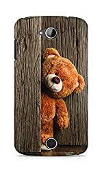 Amez designer printed 3d premium high quality back case cover for Acer Liquid Z530 (Cute Taddy Bear)
