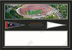 Virginia Cavaliers Scott Stadium & Your Choice Of Stadium Panoramic Framed-House... by Art and More, Davenport, IA