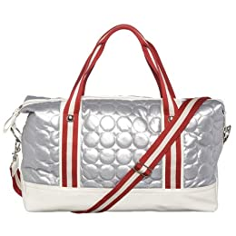 CL by Laundry Quilted Weekender - Silver : Target from target.com
