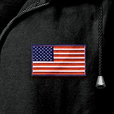 Men's Hoodie: Home Of The Brave by The Bradford Exchange