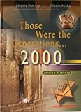 img - for Those Were The Generations, 2000: Jewish History book / textbook / text book