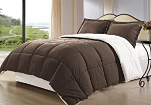 Borrego Comforter Set, Queen, Brown