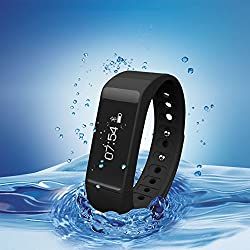 007plus® T5 Plus Smart Bracelet fitness tracker sport wrist Bluetooth 4.0 Pedometer Tracking Calorie Health Sleep Monitor Wristband for Android IOS 7.0 8.0 8.1 Iphone 4s 5s 6 6 Plus from 007plus