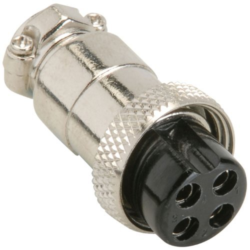 Cb Mic Plug 4 Pin Female