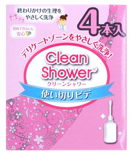 Clean Shower 4p (120ml × 4) (JAPAN)