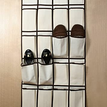 Fabriquer un range chaussures en tissu for Zapateros tela para colgar