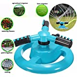 Generic 360 Degree Rotating Watering Sprinkler Garden Plant Lawn Pipe Hose Spray Irrigation Sprayer Home Garden...