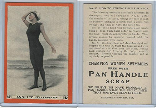 T221 Pan Handle Scrap, Champion Women Swimmers, 1910, #35 A Kellermann