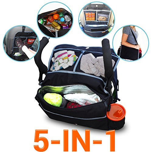 5-In-1 Insulated Stroller Bag And Backseat Organizer Keeps Drinks Cool With A LifeLong Promise - 1