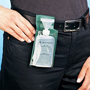 Bel-Art, Scienceware, 248450000, Bottle, Low Density Polyethylene, Pocket Eye Wash
