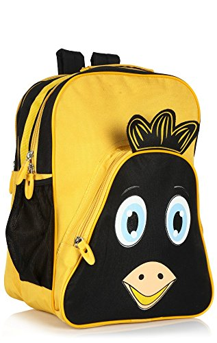 Bag-Age Twitter Children School Bag Small (Yellow)