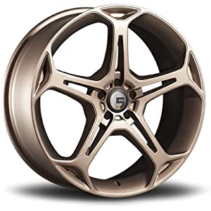 Five Axis X5F 19 Bronze Wheel / Rim 5×100 with a 35mm Offset and a 73.10 Hub Bore. Partnumber 5011-9880-35