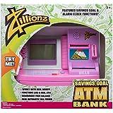 Zillionz Pink Savings Goal ATM