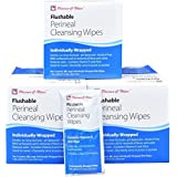 Flushable Personal Wipes - 108 Individually Wrapped