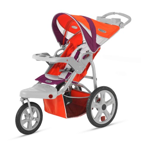 InStep Flight Single Swivel Stroller - 1