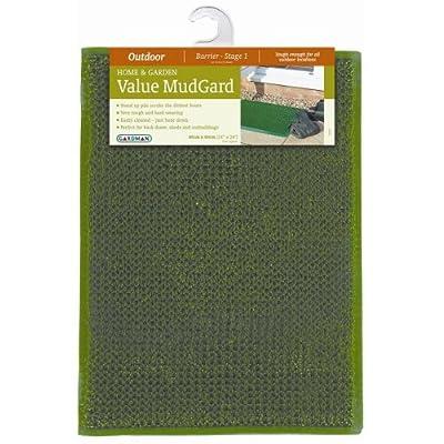 Gardman green plastic mud outdoor door mat boots/shoes