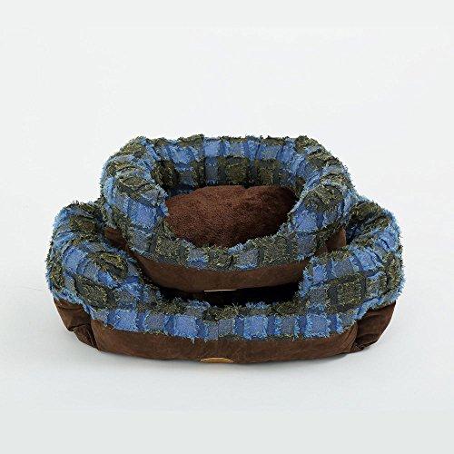 elite-antik-flock-abnehmbarer-hundebett-geeignet-fur-kleine-hunde-winter-bestseller-braun-beige