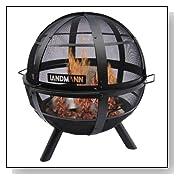 Landmann Round Ball of Fire Outdoor Fire Pit