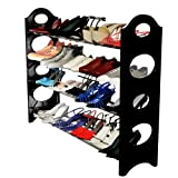 Last Day Sale- Shoe Rack Organizer Storage Bench -100% Lifetime Money Back Guarantee -Store up to 20 pairs of shoes and say GOODBYE to messy piles of shoes cluttering your closet and entryway - Adjustable shoe racks shelves width and height - Made From Stainless Steel and High-Quality Plastic Polymer so its BUILT TO LAST - Easy to Assemble - No Tools Required - Your Purchase is Secured by a 100% Risk Free LIFETIME GUARANTEE!