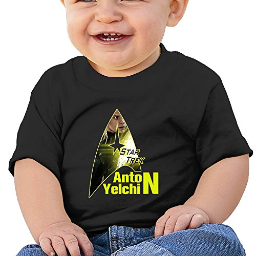 [KIDDOS Infants &Toddlers Baby's American Film TV Actor Shirts 18 Months Black] (Film And Tv Costume Design)