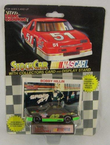 Bobby Hillin NASCAR Racing Champions 1991 Mello Yellow 1/64 Diecast - 1