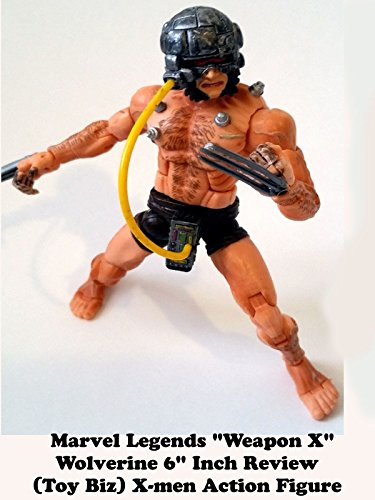 Marvel Legends Weapon X Wolverine Review (toy biz series)