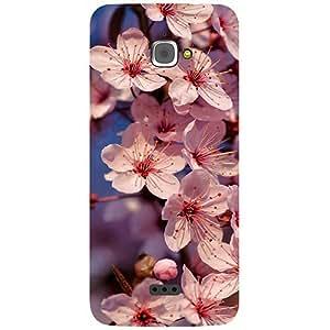 Casotec Pink Flowers Pattern Design 3D Printed Hard Back Case Cover for InFocus M350