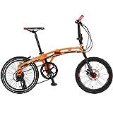 DOPPELGANGER 20インチ 折りたたみ自転車 パラレルツインチューブフレーム採用モデル BLACKMAXシリーズ mobility-six 211-YL
