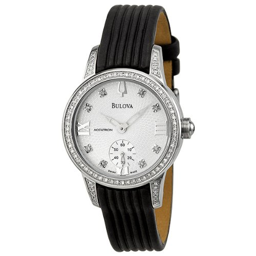 Bulova Accutron Masella Silver White Dial Ladies Watch 63R33