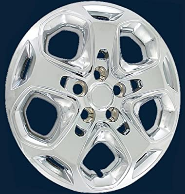 """457 Series Ford Fusion 17"""" Chrome Upgrade Hubcap Set/4 Part # 457-17C"""