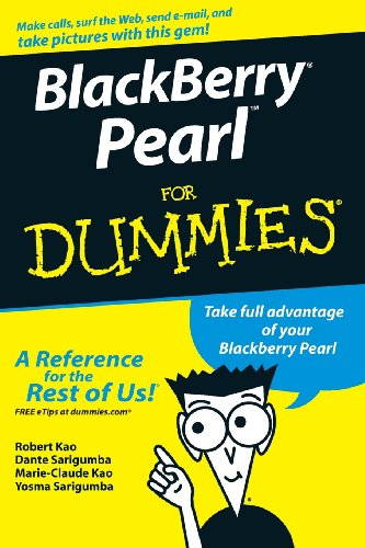 BlackBerry Pearl For Dummies PDF