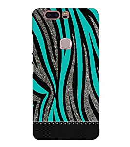 Bling Green Graphics 3D Hard Polycarbonate Designer Back Case Cover for Huawei Honor V8