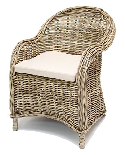 Rattan-Sessel-Koboo-Grey