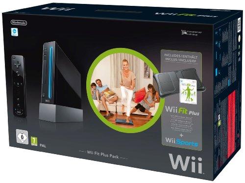 Nintendo Wii Fit Plus Pack schwarz - limitierte Jubil?ums Edition