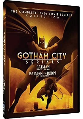 Gotham City Serials - Batman/Batman And Robin: The Complete 1940s Movie Serials Collection