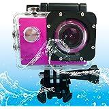 Sports Cameras SJCAM SJ4000 WiFi Ultra HD 2K 1.5 Inch LCD Sports Camcorder With Waterproof Case 170 Degrees Wide... - B01N7AH8JO