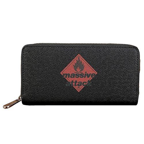 Massive Attack Long Fancy ID Case With Zipper Closure (Massive Attack Protection Vinyl compare prices)