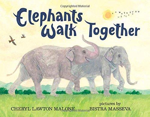 Book Cover: Elephants Walk Together
