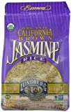 Lundberg Organic California Jasmine Rice, Brown, 16 Ounce (Pack of 6)