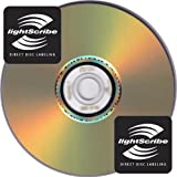 Disc Makers IMATION Premium 16x LightScribe DVD-Rs - Tub of 10 LIGHT SCRIBE PRINTABLE RECORDABLE DVD 4.7GB 120MINS