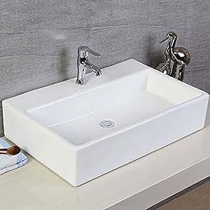 Above Counter Bathroom Sink Bowls : ... kitchen bath fixtures bathroom fixtures bathroom sinks vessel sinks