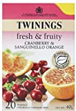 Twinings - fresh & fruity cranberry & sanguinello orange (20 tea bags)